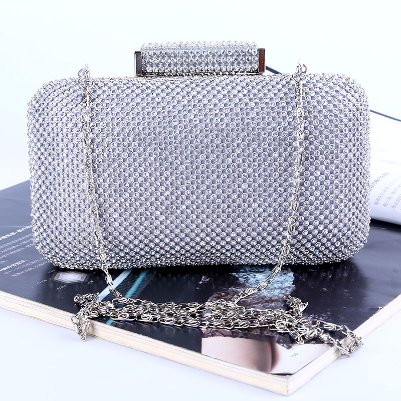 Diamonds women evening bags day Casual Clutches small purse hard evening bags rhinestones luxurious evening bag bolsos mujer<br>
