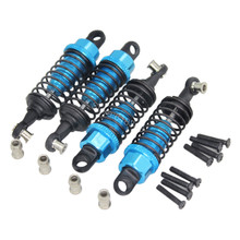 4 Pcs/Lot Aluminum RC Shock Absorber A949-55 Fit WLtoys A979 1/18th Scale 4WD Electric RTR Monster Truck Off-road Car(China)