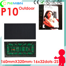 Coreman pitch 10mm p10 outdoor full color led display module 32x16 16x32 16x320mm 1/2 scan, outdoor p10 p8 p6 led dot matrix rgb