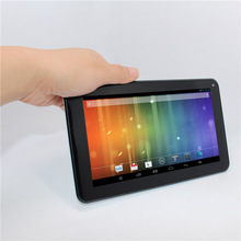 Glavey 7 inch AllWinner A20 Android 4.2 Dual core 16GB ROM 1GB RAM 1024*600 HD front black rear white Tablet PC(China)