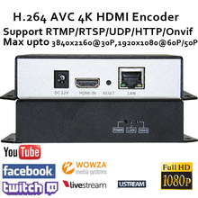 H.264 4K HDMI Video Encoder for live streaming Broadcast support RTMP/RTSP/RTP/UDP/HTTP