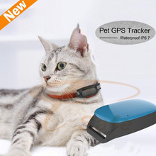 Ublox chip Pet Tracker Mini Small GPS GSM/GPRS Tracker for Child Pet Dog Tracking rastreador de moto waterproof only 35g