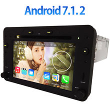 3G/4G WIFI 2GB RAM Android 7.1.2 Car DVD Multimedia Player Radio Audio Stereo GPS for Alfa Romeo Spider 159 Sportwagon Brera(China)