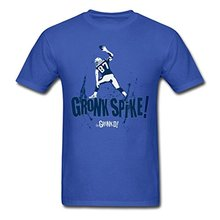 Rob Gronkowski Gronk Spike Men's Tees 100% Cotton Letter Printed T-Shirts T Shirt Hot Sale Printed T Shirt Men Cotton New Style(China)