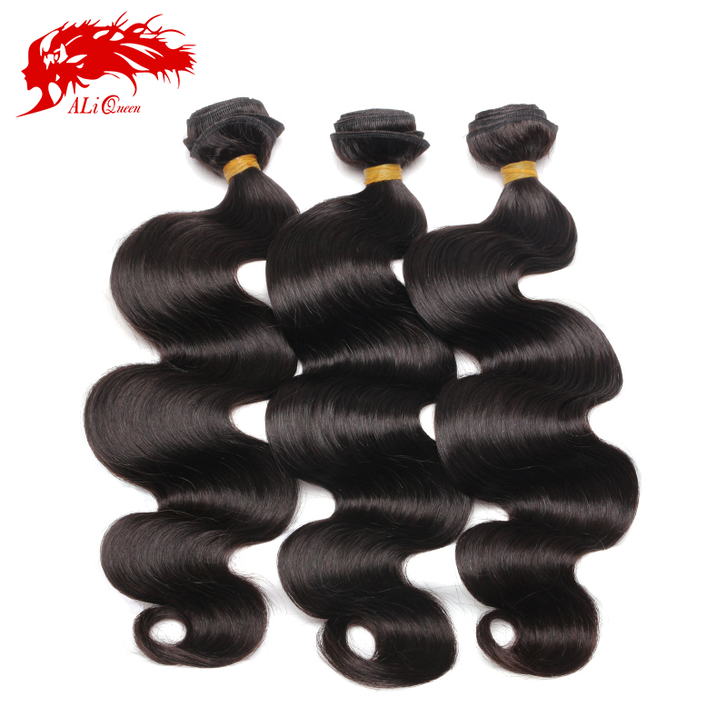 Ali Queen Hair Products 6A Peruvian Virgin Hair Body Wave 3 Pcs Weave Bundles, Unprocessed Peruvian Body Wave Virgin Human Hair<br><br>Aliexpress