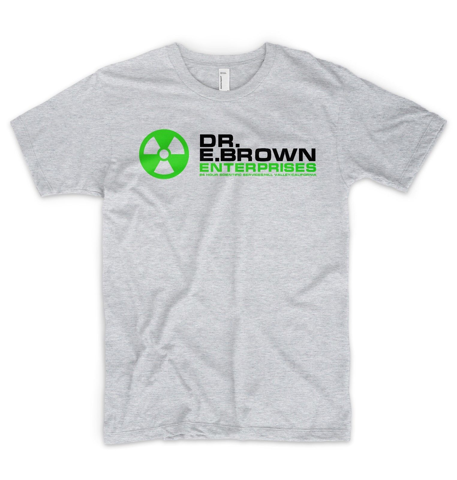 Dr EmmeBrown Enterprises T Shirt Logo Back To The Future Marty McFly Cool Casual pride t shirt men Unisex Fashion tshirt
