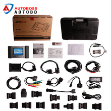 Top-Rated 100% Original AUTOBOSS V30 Vehicle Diagnostic Computer Update Online AUTOBOSS V30 Auto Scanner with Plastic box(China)