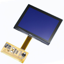 Free Shipping For AUDI TT LCD Display Screen for audi TT Jaeger A3 A4 Jaeger LCD dash dashboard repair(China)