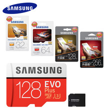 SAMSUNG Memory Card 128GB 64gb 32gb 256gb 100Mb/s Micro SD Card Class10 U3 Microsd Flash TF Card for Phone with Mini SDHC SDXC
