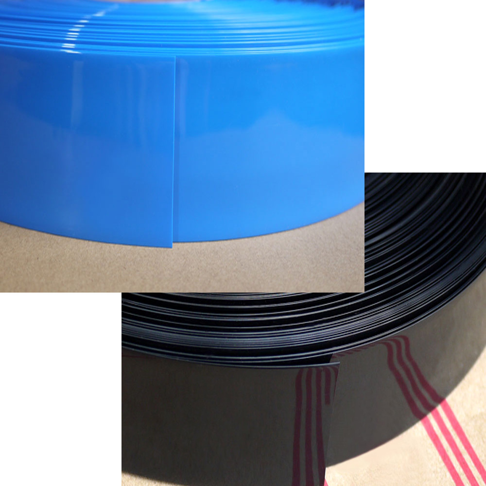 Blue PVC Heat Shrink Tubing 105mm ~ 228mm lot