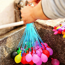 111pcs Quickly Filling Magic Water Balloons Bunch Latex Balloon Water Balloon Bombs Toys Kids Summer Beach Games Party Supplies