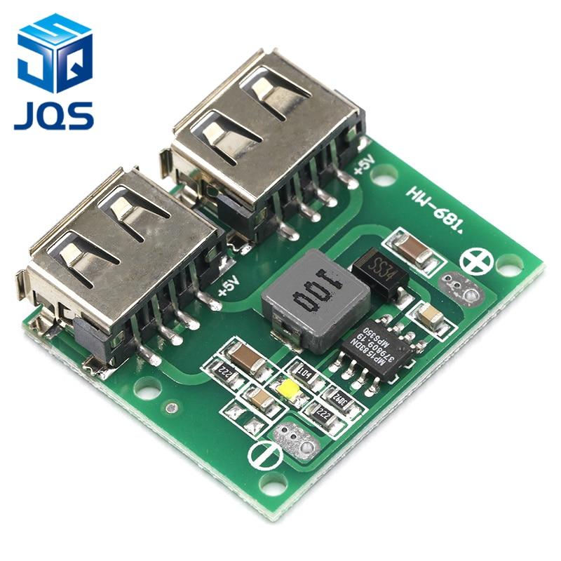 9V//12V//24V to 5V DC-DC Step Down Charger Power Module Dual USB  Voltage Board