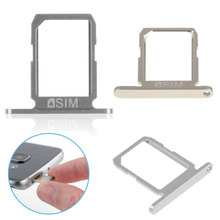 Sanheshun 1 pc Single Micro Nano SIM Card Tray Slot Holder For Samsung Galaxy S6 Replacement Case Phone Sim Adapter(China)