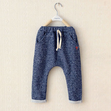 V-TREE 2017 autumn boys harem pants children trousers for boys girls leisure kids trousers boys clothes baby ruffle pants(China)
