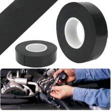Multi-fuction Rubber Waterproof Performance Repair Tape Bonding Rescue Self Fusing Hose Black Garden Connector Wire Tape Mayitr