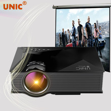 UNIC UC46 + Portable Mini LED Projector WIFI Home Theater Multimedia Video USB SD AV HDMI Miracast Full HD Projector Proyector