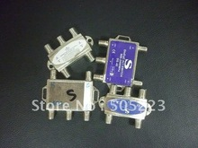 good quality DiSEqC 4 x 1 Switch for satellite receiver free ship by china post 50pcs/lot(China)