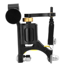 Black Machined Aluminum Alloy Rotary Motor Tattoo Machine Liner Shader X8232 5Up(China)