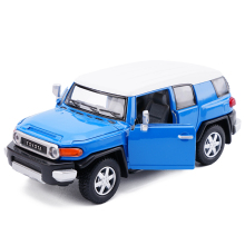 New KiNSMART 1:36 Toyota FJ Cruiser Car Model Diecast Metal Alloy Car Model Toy With Pull Back For Kids Gift Toy Free Shipping(China)