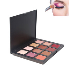 Pearl Color Eyeshadow Women Palette Shining Shimmer Nature Glow Makeup Make Up Set Eye Shadow Cosmetics FM88(China)
