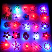 25PCS/lot Factory Frice Cartoon LED Flashing Night Light Pin Badge Button For Party Children Decoration Hot Sale(China)
