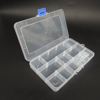 Toolbox Электронный Пластиковый Контейнер Коробка для Инструментов Случае SMD SMT Винт Швейные PP Прозрачный Ящик Для Хранения Компонент