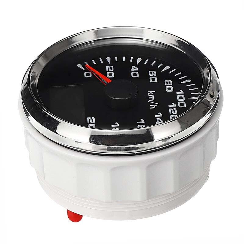 New 85mm GPS Speedometer 200km/h GPS Speedometer Gauge 9-32V Seven-color backlight Motorcycle Marine Boat Buggy 11