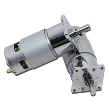 775 DC Gear Motor 12V 24V high-power high-torque motor slow forward and reverse speed small motor