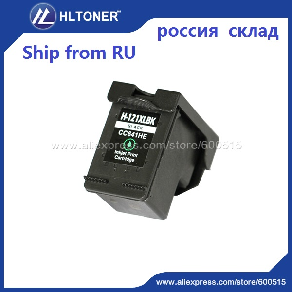 1pc Compatible ink cartridge HP121XL HP121 for Deskjet F4283 F2423 F2483 F2493 F4275 D1660 D1663 D2500 D2560 D2563 D2660 D5560<br><br>Aliexpress