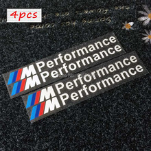 Funny Sticker M Performance Hi-Temp Premium Cast Vinyl Brake Caliper Stickers For Car Windshield Side Windows Bumpers Helmet(China)