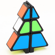 Zcube Christmas Tree Shape Magic Cube Puzzle Toy Christmas Gift(China)