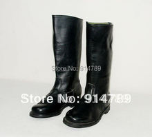 WWII GERMAN EM LEATHER COMBAT BOOTS IN SIZES -45471