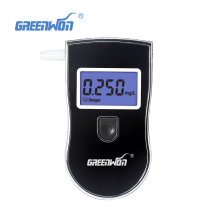 New Prefessional Police Portable Breath Alcohol Analyzer Digital Breathalyzer Tester Body Alcoholicity Meter Alcohol Detection