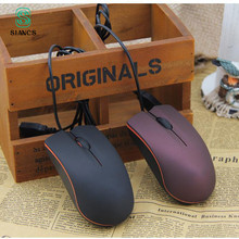 SIANCS Mini Cute Wired Mouse USB 2.0 Pro Office Mouse Optical Mice For Computer PC Gaming Ergonomic Video Game Pro Gaming Mouse