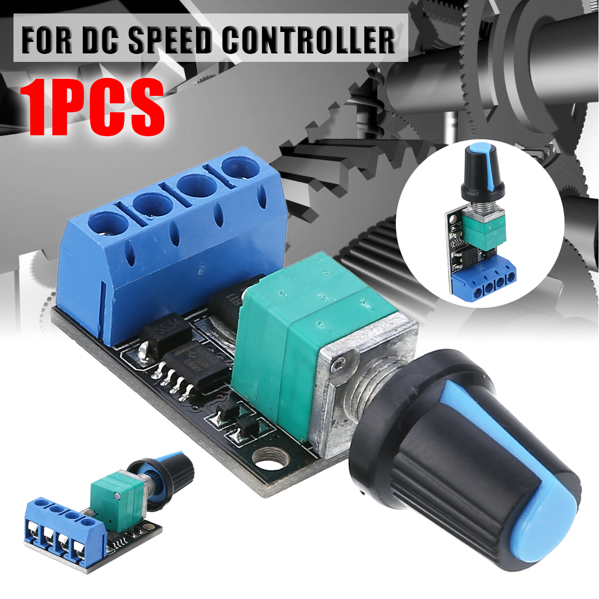 DC 5V-16V PWM Speed Controller Regurator 10A DC Motor Speed Controlling Switch LED Dimmer Controller