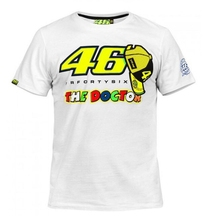 Plus Size S-4XL MOTO GP Motorcycle T-shirt Summer Jersey Jersey Dr. VR46 Cotton Casual(China)