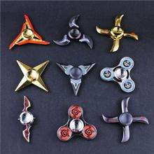 CODOMO Fidget Spinner New Model Designs Metal Naruto Weapons Finger Spinner Minato Kunai Zinc Alloy Zinklegering Spinner Toys