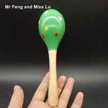 Cartoon Wooden Sand Hammer Orff Musical Instruments Preschool Educational Toys Baby Gift(China)