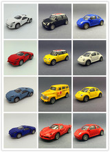 Boxed Speed and Passion 7 Boxed Alloy car model Fast & Furious 10cm Lycan Sports car Beetle Mini school bus Pull Back Metal cars