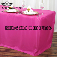 Fitted Wholesale Polyester Table Cover Wedding Banquet Event Tablecloth