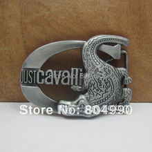 crocodile belt buckle with pewter finish FP-02182 brand new condition with continous stock(China)