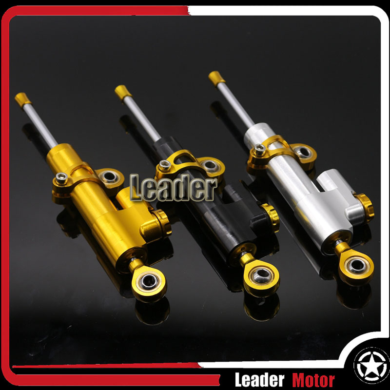 New Product Universal CNC Motorcycle Accessories Street Bike Steering Damper Stabilizer Adjustable Three Colors<br><br>Aliexpress