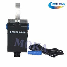 8pcs/lot On sale DMX Power Drop Machine for Stage Backdrop Stage Backdrop Curtain Drop System