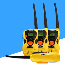 2pcs Kids Portable Intercom Two-Way Radio Electronic Walkie Talkie Toy