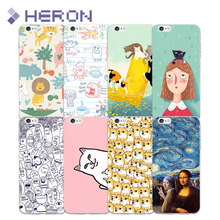 Soft Super Thin TPU Case  For iPhone 4 4s 5 5s SE 6 6s 6+ 7 7+ Ultra Thin Transparent Silicone Indie Pop TPU Phone Cases