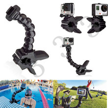 Accessories, Jaws Flex Clamp Mount and Adjustable Neck for GoPro Accessories or Camera Hero1/2/3/3+/4 sj4000/5000/6000