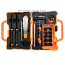 45 In 1 Screwdriver Repair Opening Tools Set Kit Pry for Pad Mobile Phone Nice Gifts(China)
