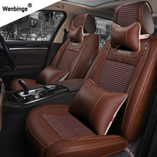 ( wenbinge ) Special Leather car seat cover For Benz A B C D E S series Vito Viano Sprinter Maybach CLA CLK auto accessories
