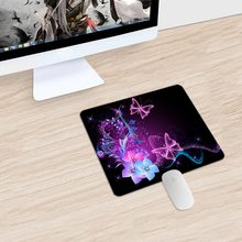 Waterproof Material Small Size 240*200 mm gaming Mouse Pad Soft office Mouse Mat For Office/Home Use