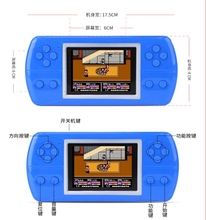 "CoolBaby RS-87 3.5"" handheld game console Built-in 380 Different Games Video Game Console Children Christmas gift(China)"